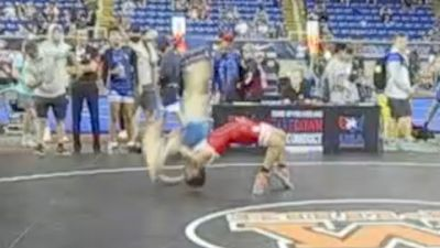 152 lbs Semifinal - Arvin Khosravy, California vs Lars Michaelson, Washington