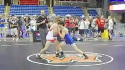 120 lbs Semifinal - Jett Strickenberger, Colorado vs Paul Kelly, California