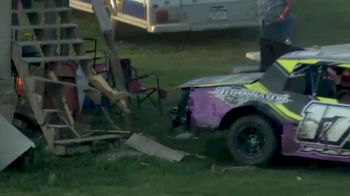Hobby Stock Smashes The Stairs At Marshalltown