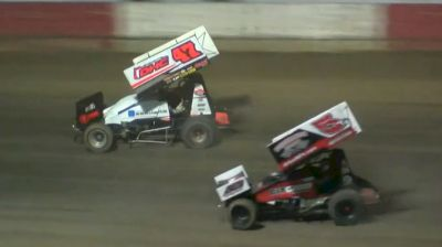 Dale Howard Ends 21-Year ASCS Win Drought with Last Lap Stunner