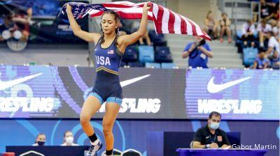 40 kg Final 1-2 - Alexandra Voiculescu, Romania vs Erica Pastoriza, United States