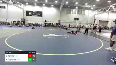 173 lbs Rr Rnd 2 - John Koroma, Ground Up USA vs Anthony Digennaro, Long Island Gladiators