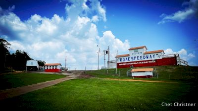 Drive In And First Look At Rome Speedway