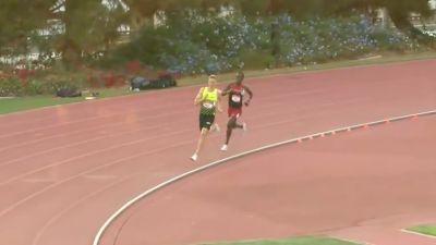 Men's 800m, Heat 1 - Festus Lagat & Brannon Kidder Battle To The Line w/ 1:44s