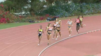Women's 800m, Heat 1 - Four Women Run 2-Flat!