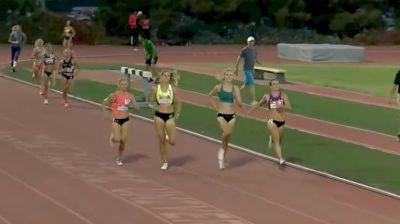 Women's 1500m, Heat 1 - Taryn Rawlings Huge Upset Win In 4:05!