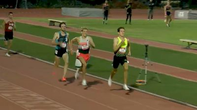 Men's 1500m, Heat 1 - Three Men Hit 2022 World Standard 3:34!