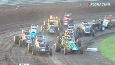 Heat Races | USAC Indiana Sprint Week at Gas City I-69 Speedway