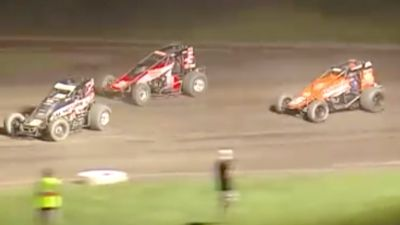 Feature Replay | USAC Indiana Sprint Week at Gas City I-69 Speedway