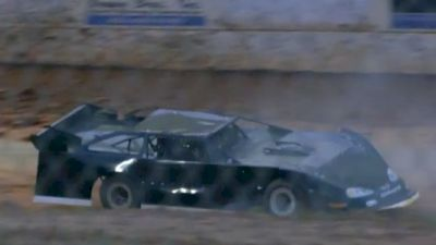 Two-Seater Blows Motor at Boyd's Speedway