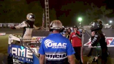 Turbulent Indiana Sprint Week Finish at Lincoln Park