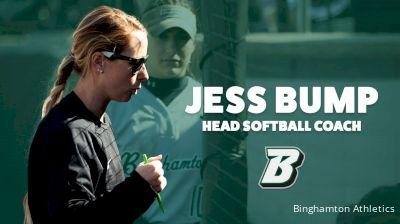 Bump Promoted to Head Softball Coach for Binghamton