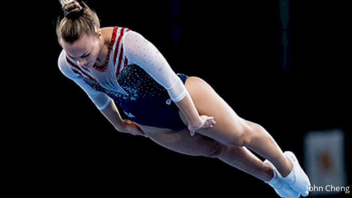 Nicole Ahsinger Places 6th For U.S. In Trampoline