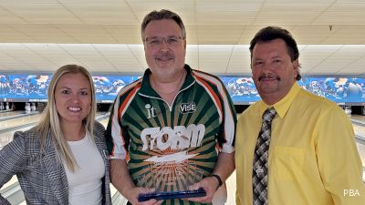 Eugene McCune Wins PBA50 South Shore Open Then Heads To Work