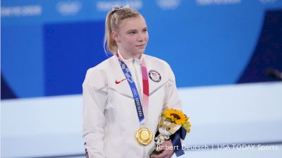 Jade Carey Earns Gold On Floor Exercise At 2020 Tokyo Olympic Games