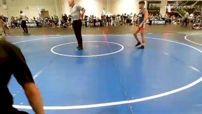 141 lbs Semifinal - Gabriel Howard, Mustang WC vs Jordan Robb, Wu Crew
