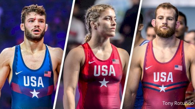 Taylor, Gilman, & Maroulis Receive Olympic Draws
