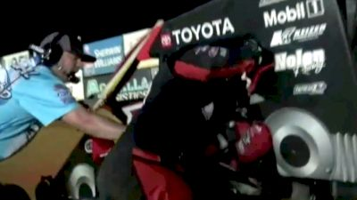 Grant Flips Down Frontstretch at Action Track USA, T-Mez Confronts Axsom
