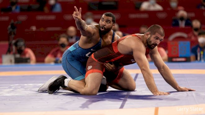 The World Reacts To Gable Winning Gold