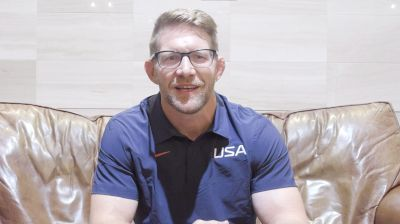 Brandon Eggum On How He Coached Gable Late For Olympic Title