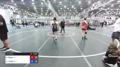 113 lbs Prelims - Ava Rose, Misfits Code Red vs Charley Jones, Buckeye Girls