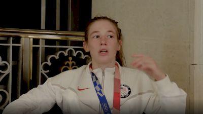 Sarah Hildebrandt Medals After Lifelong Olympic Dream