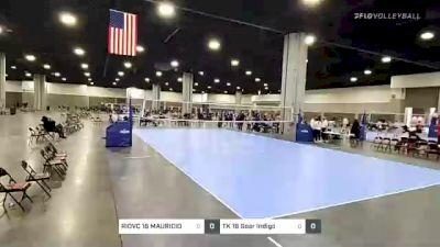 RIOVC 16 MAURICIO vs TK 16 Soar Indigo - 2021 Capitol Hill Volleyball Classic