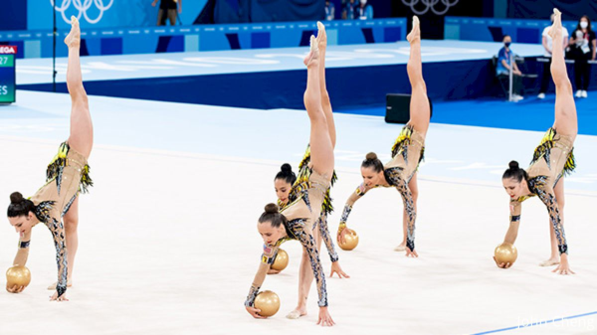 U.S. Rhythmic Group Finishes 11th In Qualifying At 2020 Tokyo Olympic Games