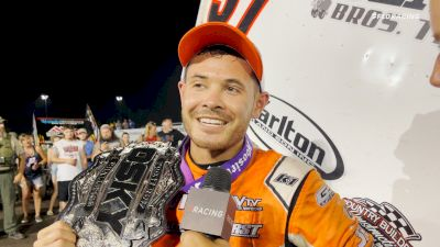 Kyle Larson Reacts To Front Row Challenge Win After Spirited Battle With Brian Brown