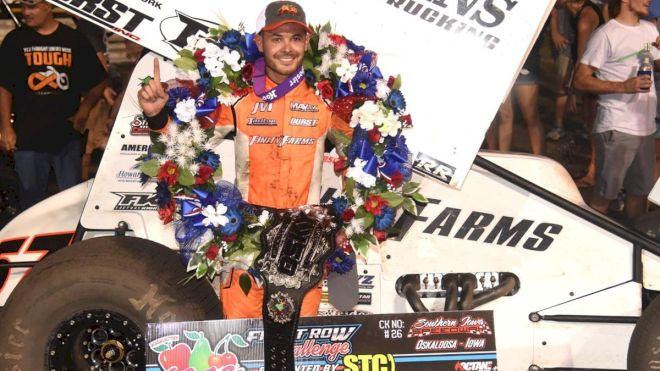 Kyle Larson Wins $21,000 Front Row Challenge