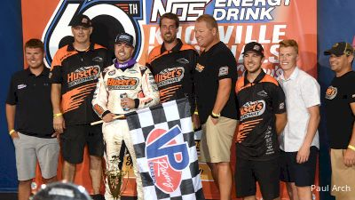 Gravel Claims Knoxville Nationals Opening-Night Feature Win