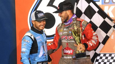 Brown Prevails, Larson Rallies On Night 2 Of Knoxville Nationals