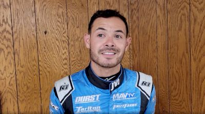 Kyle Larson Goes 21st to 2nd in Knoxville Prelim