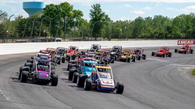 USAC Silver Crown Headlines Hoosier Classic