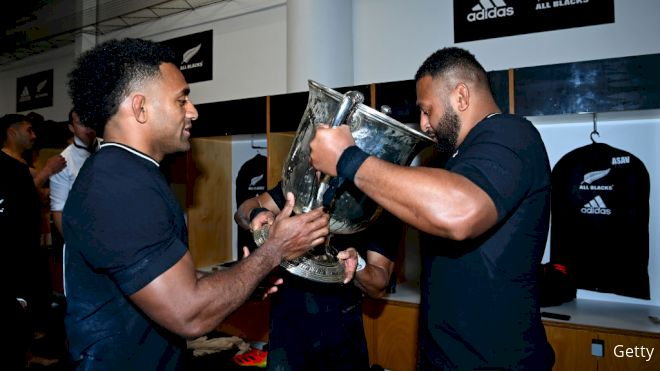 Behind The Scenes With All Blacks After Bledisloe Cup Win