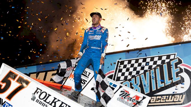 Dreams Come True For Kyle Larson In Knoxville Nationals