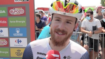 Quinn Simmons: Looking After Ciccone For Stage 2 At The 2021 Vuelta A España