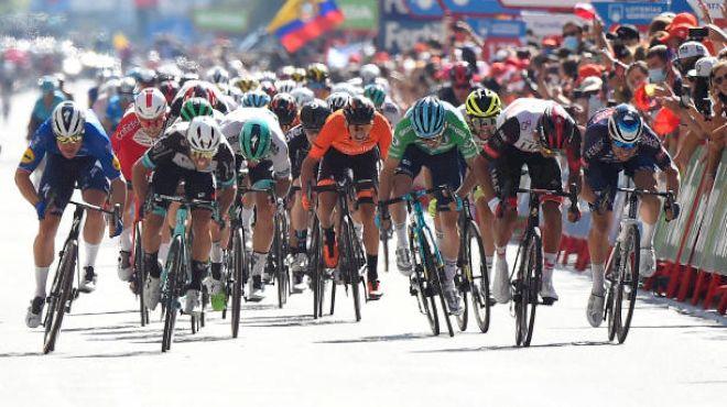 Philipsen Wins Vuelta Bunch Sprint In Baking Burgos