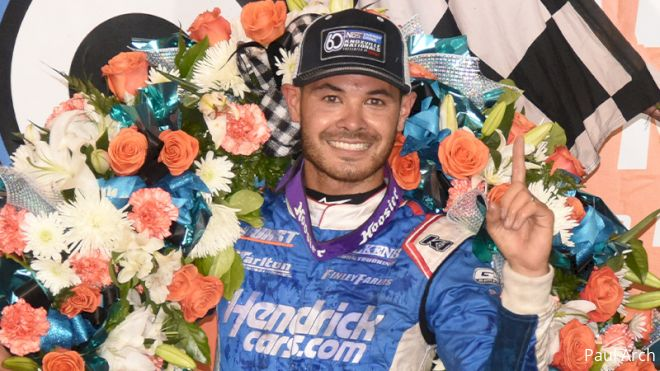 Kyle Larson Checks Knoxville Nationals Off Bucket List