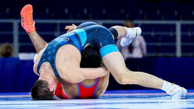 74 kg Quarterfinal - Turan Bayramov, AZE vs Keegan O'Toole, USA