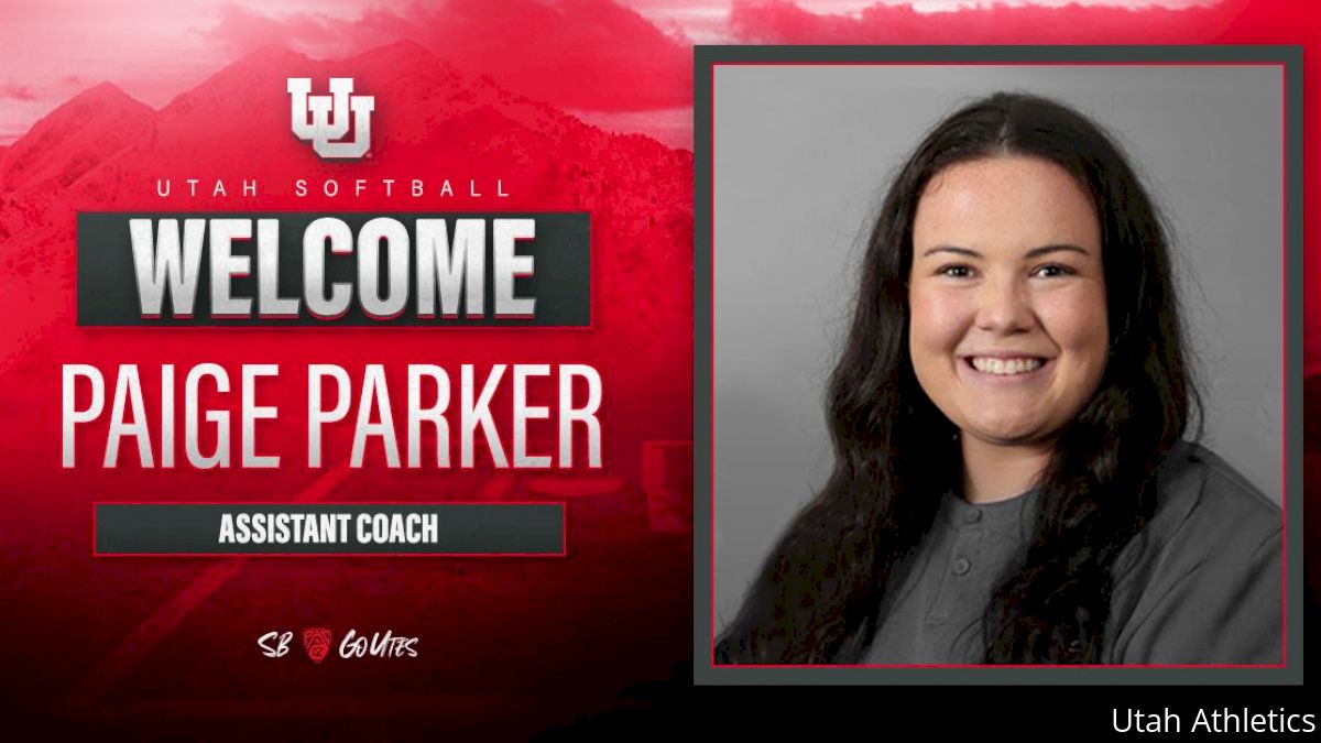 Utah Adds Paige Parker to Coaching Staff