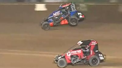 Highlights | USAC BC39 Stoops Pursuit at IMS Dirt Track