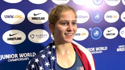 Amit Elor Dominated Her Way To A Second World Gold This Summer