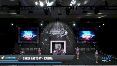 Cheer Factory - Karma [2021 L3 Junior Day 1] 2021 The U.S. Finals: Grapevine