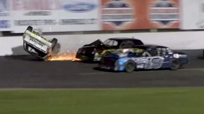 Street Stock Flip and Slide at Stafford