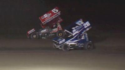 Highlights | All Star Sprints at I-96 Speedway