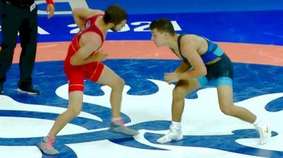 60 kg Round Of 16 - Miguel Angelo Loureiro Dos Santos, Por vs Nicholas Pierce Bouzakis, USA