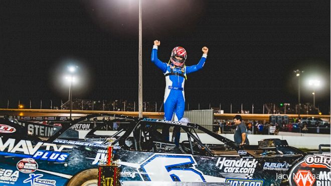 Kyle Larson Wins Again...This Time In A Late Model