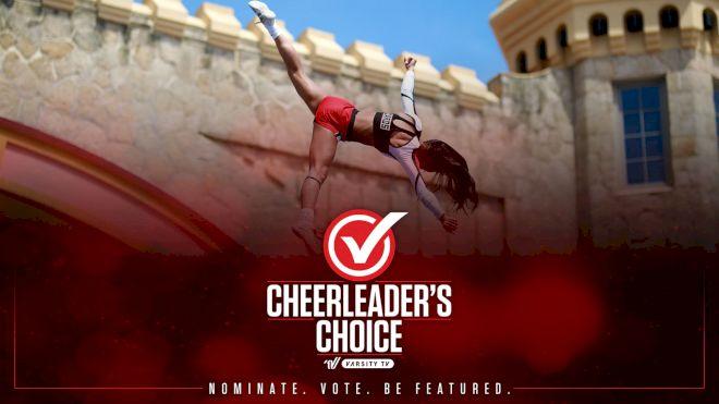NOMINATE NOW: 2021 Cheerleader's Choice School Spirit Spotlight