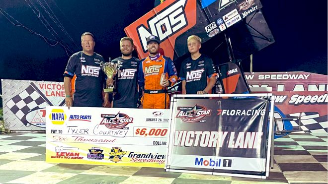 Tyler Courtney Earns First All Star Win In PA Posse Country